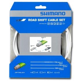 SHIMANO OPTISLICK országúti váltóbowden szett (fehér)