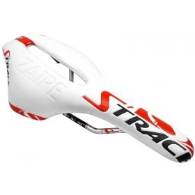 DDK S'TRACE ZAIRE kerékpár nyereg (fehér / piros)