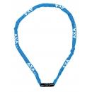 AXA RIGID RCC 120 láncos lakat számzárral (kék)