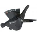 SHIMANO ALTUS váltókar SL-M2010 3 fokozat kompatibilis, Rapidfire bilincses váltókar. MEGA 9 LITE rövid áttételes váltás