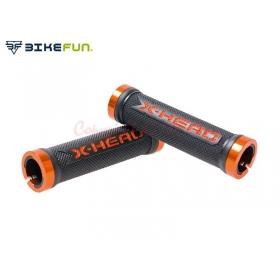 Bikefun X-Head markolat (narancs/fekete)