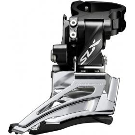 Shimano SLX első váltó FD-M7025-HX6. Felső bilincses, Dual Pull bowdenhúzású MTB első váltó 2X11 sebességes váltórendszerekhez