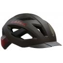Lazer Cameleon fejvédő (piros, matt fekete)