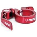 XLC PC-L04 gyorszáras nyeregcső bilincs 31,8mm (piros)
