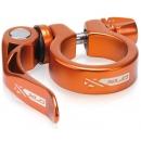 XLC PC-L04 gyorszáras nyeregcső bilincs 31,8mm narancs