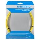 Shimano PTFE fékbowden szett (sárga)