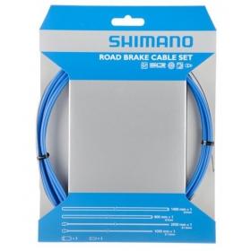 SHIMANO PTFE fékbowden szett kék
