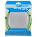 Shimano PTFE fékbowden szett (zöld)