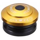 """ACOR AHS-21201 1,1/8"""" integrált kormánycsapágy (arany)"""