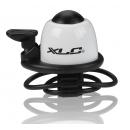 XLC DD-M09 csengő gumis rögzítéssel (fehér)