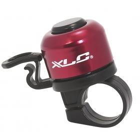 XLC DD-M06 mini kerékpár csengő (piros)