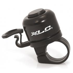 XLC DD-M06 mini kerékpár csengő (fekete)