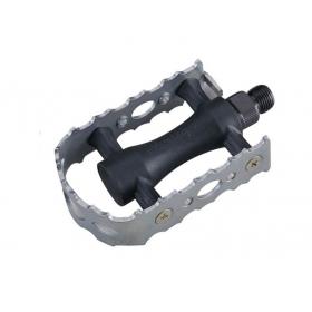 Wellgo LU-C3 MTB pedál (ezüst/fekete)