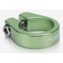 XLC PC-B05 csavaros nyeregcső bilincs 34,9mm (zöld)