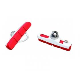Acor ABS-21202 országúti fékpofa (piros-fehér)