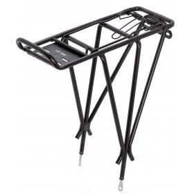 XLC RP-R04 3 pálcás kerékpár csomagtartó (fekete)