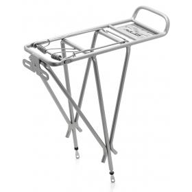 XLC RP-R04 3 pálcás kerékpár csomagtartó (ezüst)