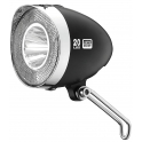 XLC Retro első lámpa 20 LUX CL-F20 (fekete)