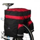 ROSWHEEL háromrészes kerékpártáska (piros-fekete)