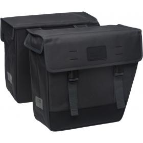 NEWLOOXS Origin Double Hybride két részes táska csomagtartóra szürke színben