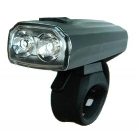VELOTECH 2X0,5W USB első kerékpár lámpa