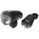 XLC 10LUX kerékpár lámpa szett CL-S14