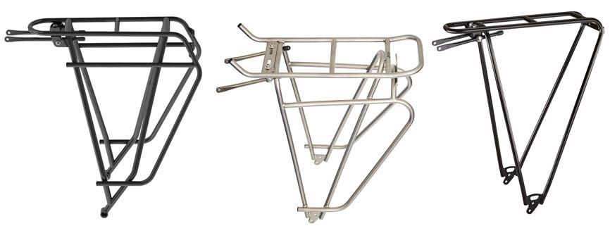 Kerékpár csomagtartók acélból