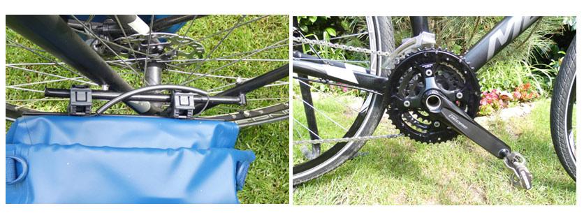 Thule táska rögzítése és lecserélt hajtómű